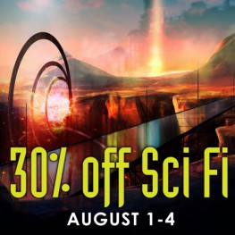 30% Off Science Fiction Titles