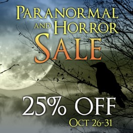 25% Off Paranormal & Horror