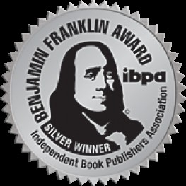 Rooks and Romanticide receives Silver Medal for Cover Art from IBPA Benjamin Franklin Awards