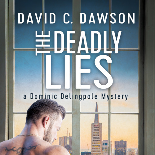 Two muscled men in a basement studio… by David C. Dawson