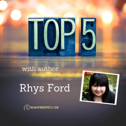 Rhys Ford's Top 5 Things about California